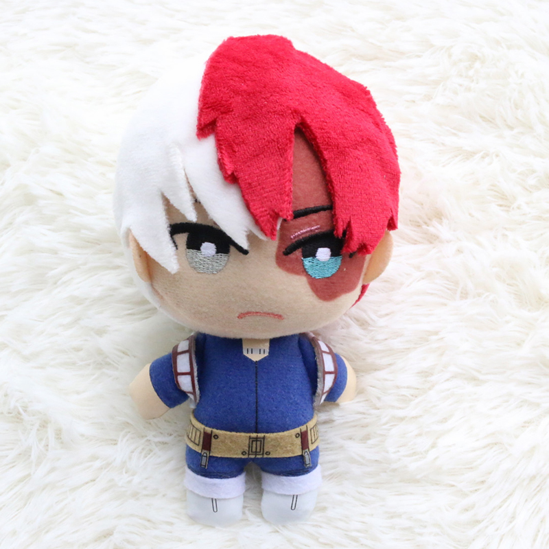 15cm Boku No Hero Academia Plush Doll Anime Todoroki Shouto Deku