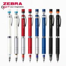 1 adet japonya ZEBRA mekanik kurşun kalem DelGuard MA86 aktivite kalem Metal çubuk düşük ağırlık merkezi önlemek kurşun mola 0.3/0.5mm