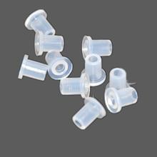 10 шт. принадлежности для СНПЧ полые вилки белые прозрачные чернила резиновая вилка пустой разъем для картриджа