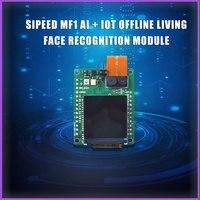 Sipeed mf1 ai + iot offline módulo de reconhecimento de rosto vivo contém o firmware