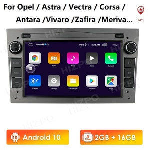 7'' Android 10 2 Din Car Radio For Opel Vauxhall Astra H G J Vectra Antara Zafira Corsa Stereo Video GPS Navigation Player WIFI