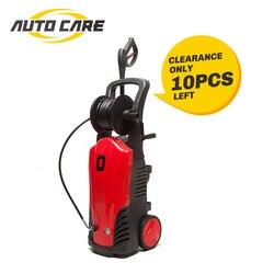 Автомойка 1740Psi, электрическая, давление 2400 Вт, 120 бар, насадки, распылитель высокого давления, автомойка, бутылка для моющего средства, шланг, ...