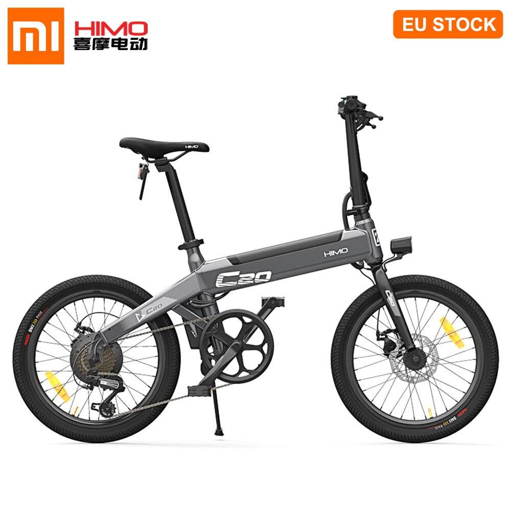 [EU STOCK] Xiaomi HIMO C20 vélo cyclomoteur électrique 250W moteur pliable Ebike 25 KM/h 80KM kilométrage 3 Modes de conduite 20 pouces pneu E vélo