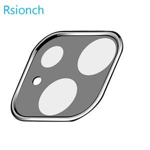 Image 4 - Rsionch Back Camera Lens Screen Protector for NEW iPhone 11 Pro Max 11 Pro 11 Tempered Glass Metal Rear Lens Protection