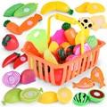 Kinder Pretend Rolle Spielen Küche Obst Gemüse Lebensmittel Spielzeug Schneiden Set Geschenk Spielzeug Baby Klassische Kinder Pretend Spielset Pädagogisches Spielzeug