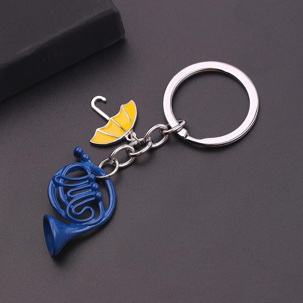 HIMYM как я винал, желтый зонт для мамы, синий французский рожковый брелок, 1 шт.