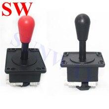 Бесплатная доставка, 2 шт., красный/черный аркадный джойстик happ, джойстик в американском стиле с микропереключателями для аркадного автомата, торговый автомат