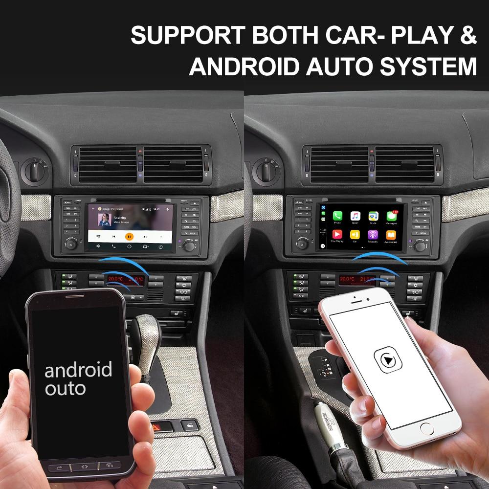 Image 5 - Isudar 1 Din Auto Radio Android 9 For BMW 5 Series/E39 X5 E53 Car Multimedia Navigation Video GPS Octa Core ROM 32GB Camera DSPnavigation radioin dash androidcar radio navigation android -