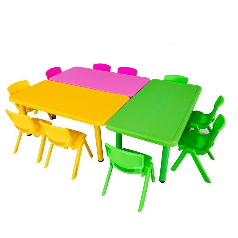 Kindertisch Stolik Dla Dzieci Pour Tavolo Bambini And Chair Children Toddler Kindergarten Study For Bureau Enfant Kids Table