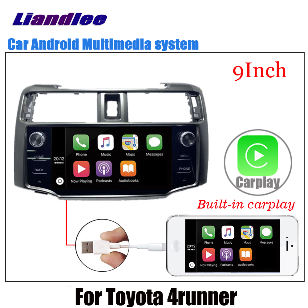 Car Android Multimedia For <font><b>Toyota</b></font> <font><b>4runner</b></font> 2010~2016 2017 2018 2019 Radio Audio Video Stereo GPS Navigation Screen Display TV image