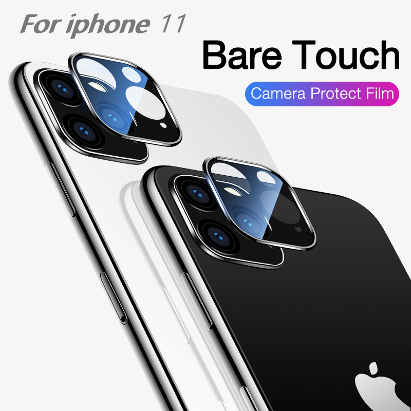Camera Lens Screen Protector for iPhone 11 11Pro Max 2019 Tempered Glas Metal Rear Lens Case