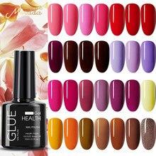 Гель-лак MORDDA 78 цветов для дизайна ногтей УФ-Гель-лак для всех ногтей маникюрный отмачиваемый гель для ногтей для дизайна ногтей инструменты ...