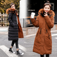 2019 Winter Mid-length Reversible WOMEN'S Cotton-padded Clothing Korean-style Slim Fit down Jacket Cotton-padded Clothes Women's