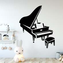 Diy Piano Wall Sticker Pvc Removable for Home Decor Removable Decor Wall Decals Decorative Vinyl Wall Stickers LW205 3m 0 6m glossy red paint furniture stickers removable vinyl diy wallpaper art pvc decals kitchen cabinet wall sticker home decor