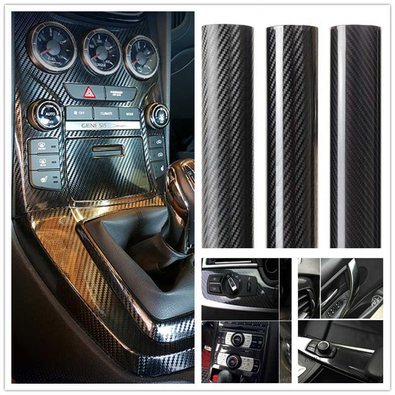 Filme de fibra de carbono para caminhão, filme de envoltório vinil 3d 4d 5d, envoltório para carro, caminhão, interior de motocicleta, acessórios para decoração