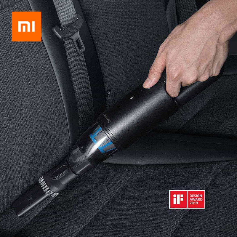 Xiaomi Mijia Cleanfly FVQ Portable Car Handheld Vacuum Cleaner For Home Wireless Mini Dust Catcher Strong Cyclone Suction