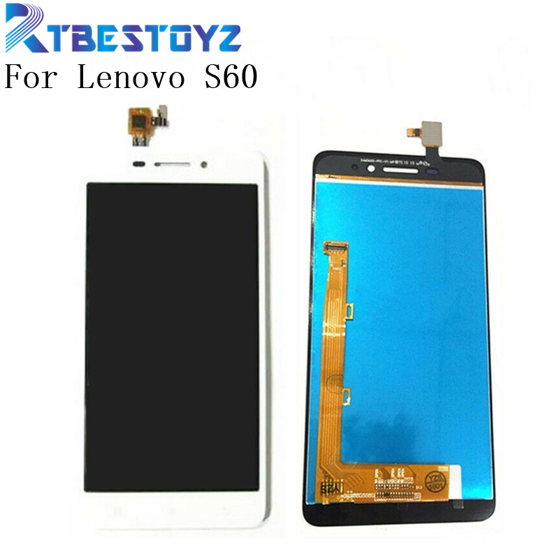 LCD Display Touch Screen Digitizer Assembly Replacement Monitor Panel For Lenovo S60 S60W S60T S60A S60-A image
