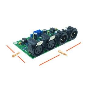 Image 2 - Mshow DIY zrównoważony przedwzmacniacz płyty niezbalansowany do zbalansowanego RCA do XLR do przedwzmacniacza HIFI AUDIO darmowa wysyłka