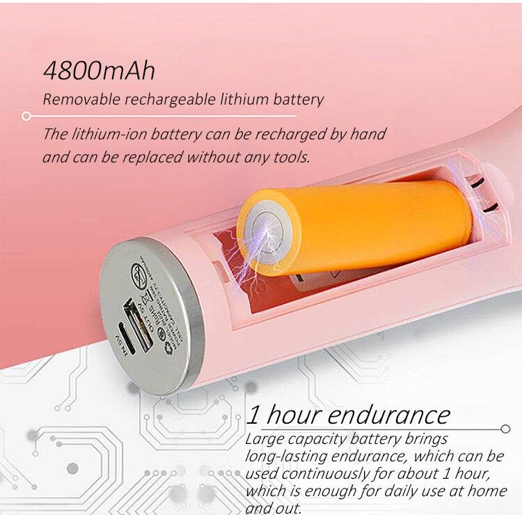Rotação Automática de Carregamento USB Portátil de