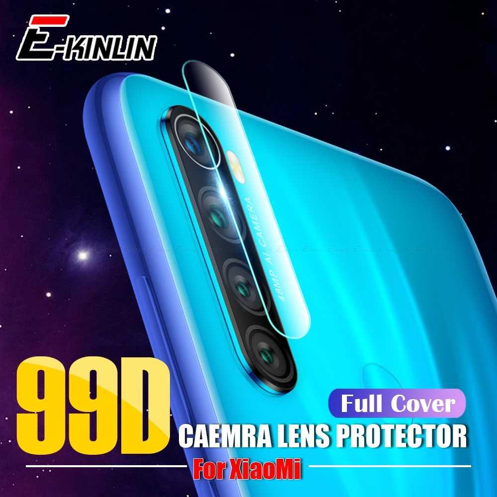 ل Xiao mi الأحمر mi نوت 8 7 6 5 برو mi 9T 9 SE 8 لايت PocoPhone F1 A3 عدسة الكاميرا الخلفية واقي للشاشة طبقة رقيقة واقية