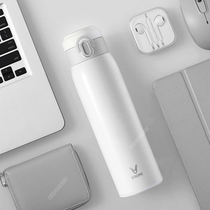 Image 2 - Original Youpin VIOMI Stainless Steel Vacuum 460ml&300ml 24 Hours Flask Water Smart Bottle Thermos Single Hand ON