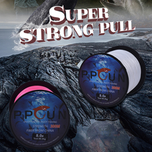 Fishing-Line Braided PPGUN PE Multifilament Strong 4-Strand Super 300M Horizontal Quality