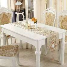 BEFU fashion simple High precision fabric  table Runners Top Decoration high-end tablecloth Home For Outdoor Wedding Party