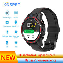 Kospet VIsion Smart Watch Android phone 3GB 32GB Dual Camera sports GPS Smartwatch Man for apple IPhone HUAWEI watch GT pro(China)