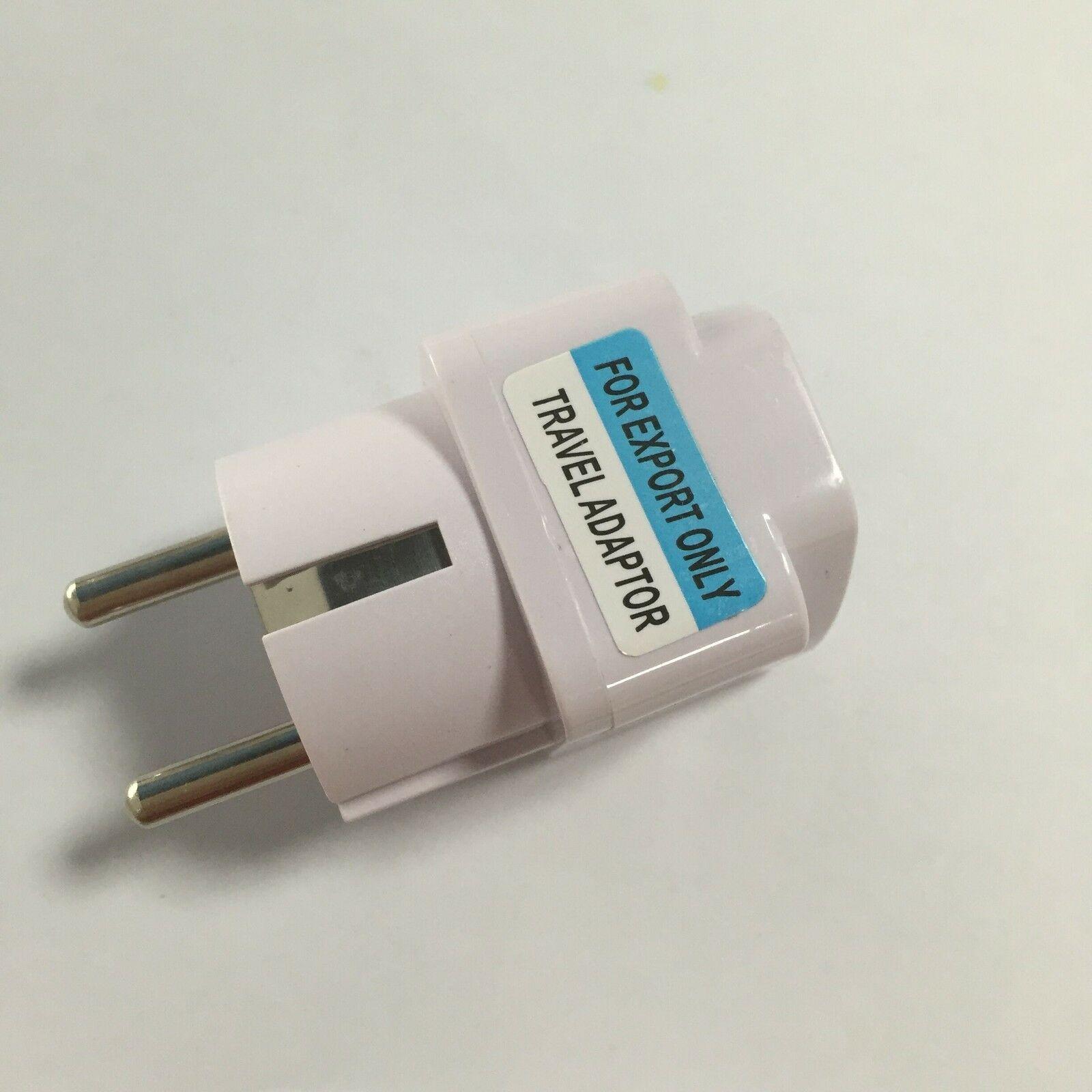 1pc * universal europeu plug adaptador conversor