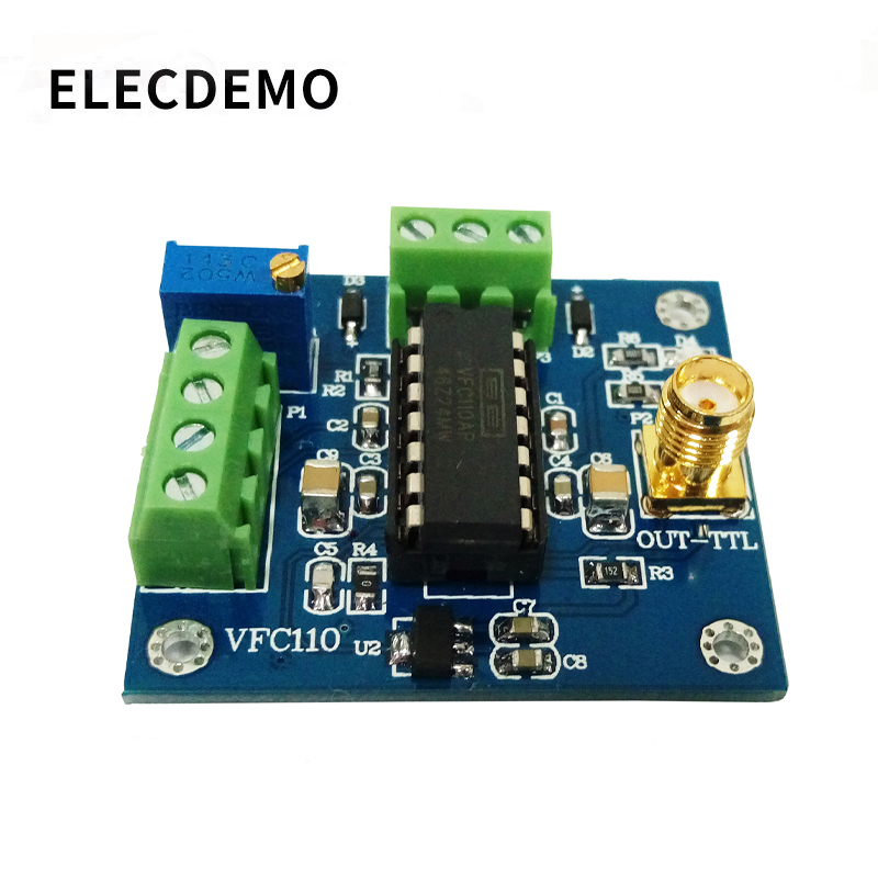VFC110 Voltage to frequency module High speed voltage to frequency conversion module  internal 5V reference built in 4M output-in Demo Board Accessories from Computer & Office