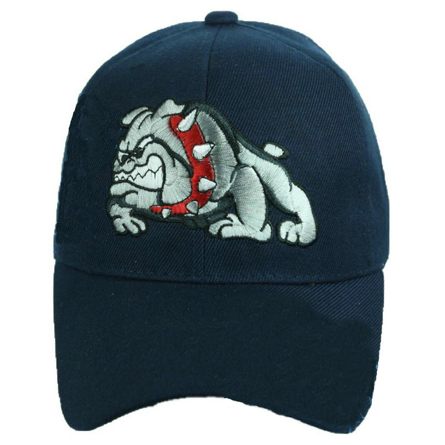 Casual Dog Patterned Adjustable Baseball Cap