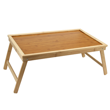 цены 50*30*20cm Laptop Stand Bed Tray Table With Folding Legs,Serving Breakfast in Bed or Use As a TV Table, Laptop Computer Tray