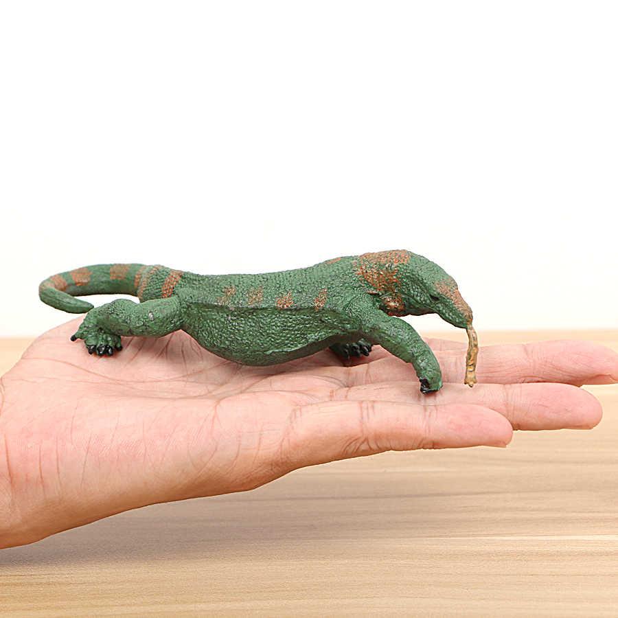 Simülasyon sürüngen hayvanlar modelleri oyuncaklar, komodo ejderha, kırkayak, bukalemun, akrep, fırfırlı kertenkele oyuncaklar şekil çocuk oyuncakları ev Deco