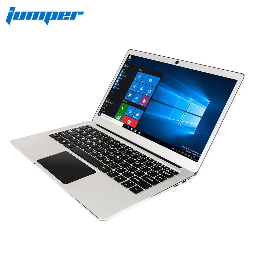 "Jumper EZbook 3 Pro Dual Band Wifi 13.3 ""laptop Intel J3455 dengan SATA M.2 SSD Slot 6 GB 64 GB Logam Kasus Win10 notebook"