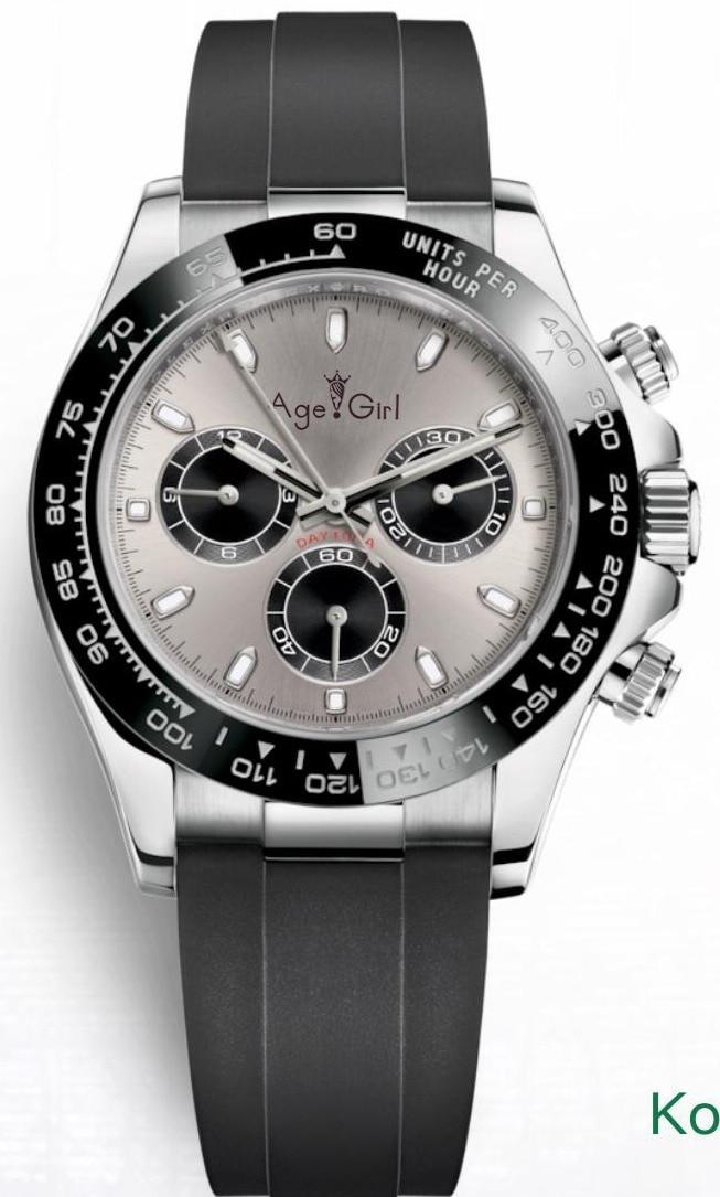 Luxury Brand New Men Automatic Mechanical Self Wind Watch Sport Sapphire Rubber Stainless Steel Black Blue Grey 40mm AAA+