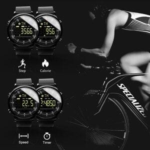 Image 5 - LOKMAT Bluetooth חכם שעון עמיד למים ספורט גברים דיגיטלי שעון במיוחד ארוך המתנה שיחת תזכורת Smartwatch עבור Ios ו android