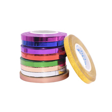 5pcs/lot 10m Foil Balloon Laser Ribbon Rose Gold Balloon Strings Event&Party Supplies Curling Birthday Party Wedding Decoration