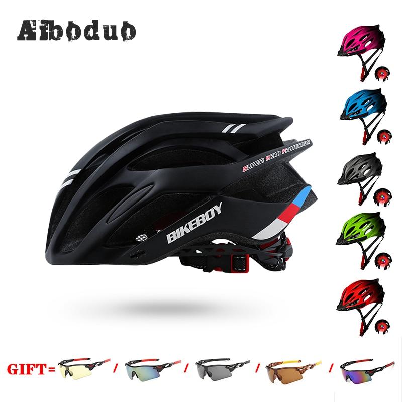 Capacete da bicicleta casco bicicleta Superlight MTB Montanha de Bicicleta de Ciclismo Capacete de Segurança Respirável hombre