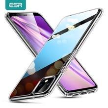 ESR – coque transparente en verre trempé pour Google Pixel 4 XL, imitation 9H, effet miroir, couverture arrière transparente pour téléphone Google Pixel 4 4XL