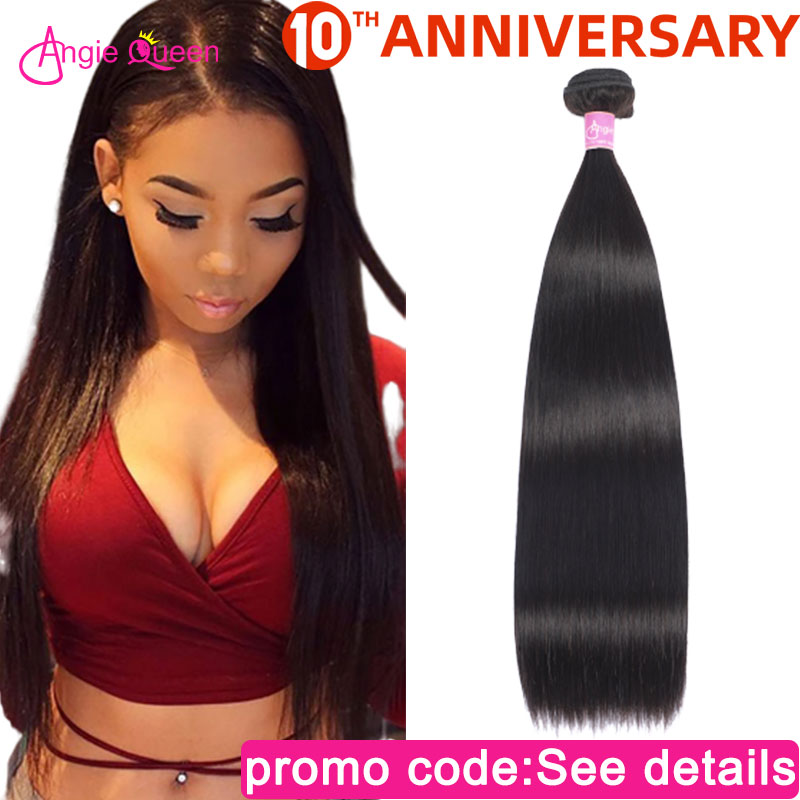Straight Hair Bundles Peruvian Hair Bundles Non Remy Hair Bundles Weaves 100% Human Hair Bundles Weft Straight Bundle 24 26 Inch