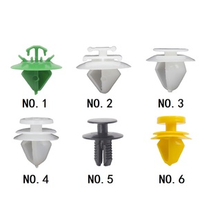 30Pcs Door Trim Clips Panel Mounting Clips For New Elysee Auto Bumper Interior Panel Fastener Clip Fit For Citroen Peugeot