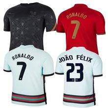 G. guedes novo homem 2020- 21 portugal camisa andre silva ronaldo b. fernandes bernardo joão felix joao cancelo camisa de qualidade superior