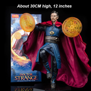 1/6 Scale two version 18CM or 30CM Crazy Toys Cloak Doctor Strange Full Set Action Figure Doll Model Toy For Collections image