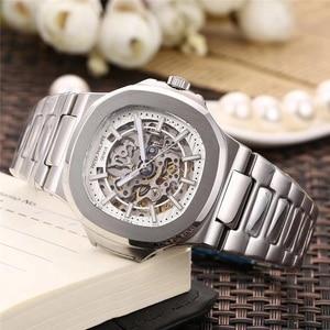 Patek- Philippe- New Luxury New Men Automatic Mechanical Watches Drive Ceramic Bezel Crystal Sapphire Sport AAA Watch