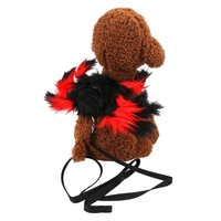 Pet Cat Puppy Harness Halloween Spider Cosplay Costume Small Dog Kitten Party Role Play Dressing Up Vest Clothes