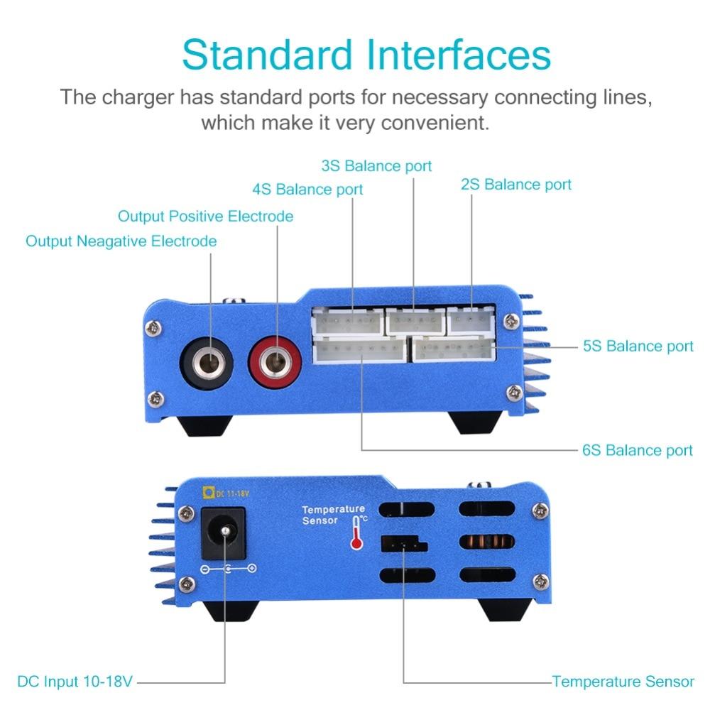 HTRC imax B6 Digital LCD RC Lipo LiFe NiMh NiCD Battery Balance Charger SOH2