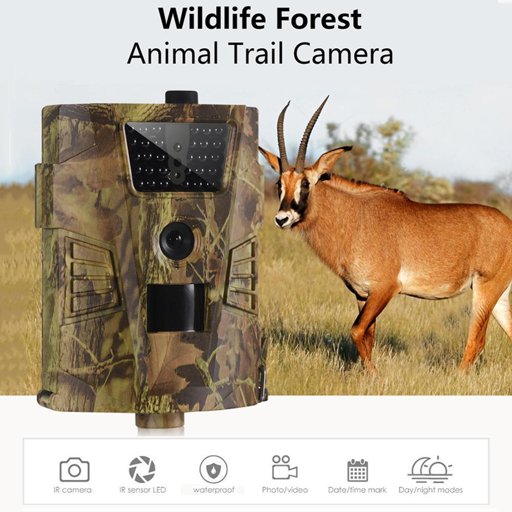 HT-001B Trail Camera 12MP 1080P 30pcs Infrared LEDs 850nm Hunting Camera IP54 Waterproof 120 Degree Angle Wild Camera