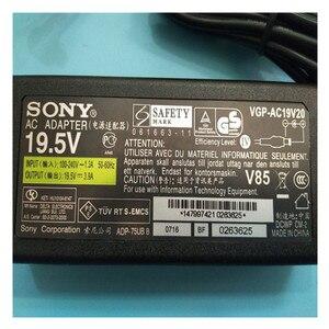 Image 3 - חדש מקורי 19.5V 3.9A AC חשמל מתאם עבור SONY VAIO VGP AC19V37 VGP AC19V38 VPCW VPC W