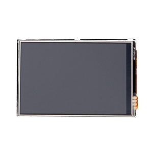 Image 4 - 3.5 Inch LCD Touch Screen Display for Raspberry Pi 4 Model B Raspberry Pi 3B+ Pi 3 480x320 Pixels with Stylus + Acrylic Case