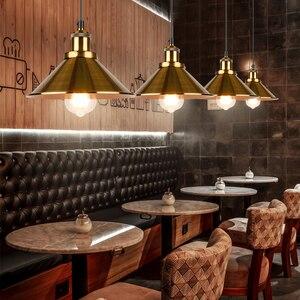 Image 3 - NEW Lndustrial Pendant Light Vintage Chandelier  Hanging Lamp Modern Pendant Ceiling Lamps LED Restaurant Living Room Decoration